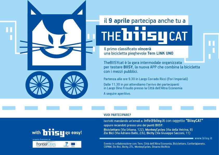 BiisyCAT - La sfida intermodale della Capitale sabato 9 aprile 2016
