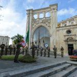lecce 21 maggio Piazza S.Oronzo Cerimonia Alzabandiera
