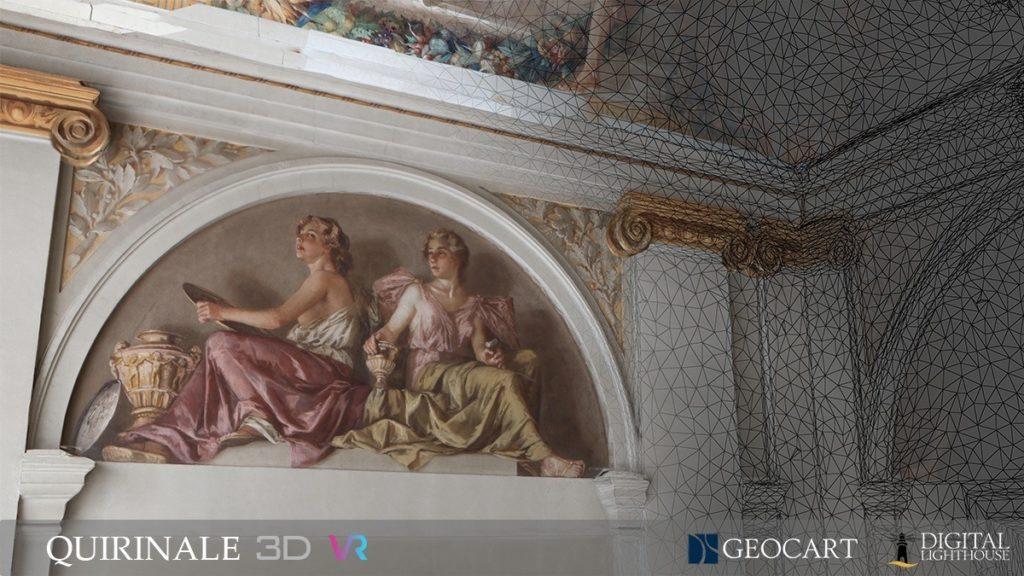 UN PRIMATO EUROPEO PER L'ECCELLENZA ITALIANA: visita virtuale in 3D al Piano Nobile del Palazzo del Quirinale