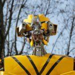 TRANSFORMERS ART In mostra per la prima volta in Italia i giganteschi robot dell'artista Danilo Baletic costruiti con rottami di auto e camion
