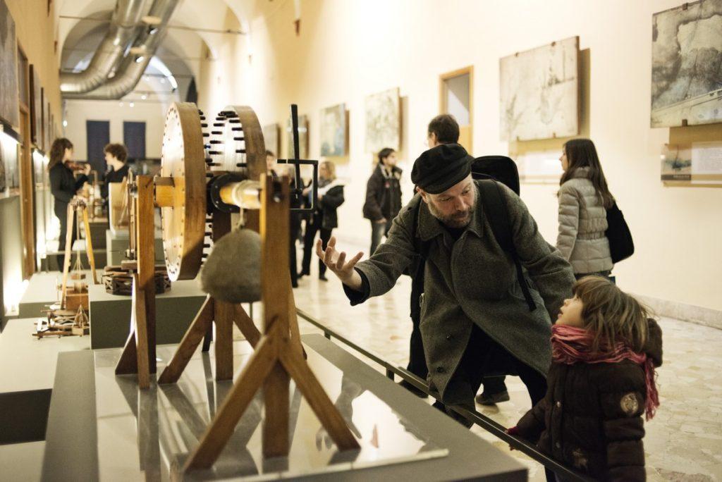 Galleria-Leonardo-Museo-Nazionale-Scienza-Tecnologia©A.Grassani-Luzphoto