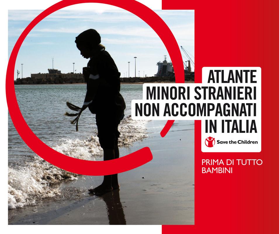 Mappe ed infografiche estratte da Atlante Minori Stranieri Non Accompagnati in Italia 2017