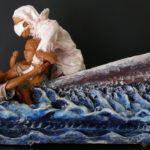 Fasasi: mostra scultura sul viaggio rifugiati nel Mediterraneo