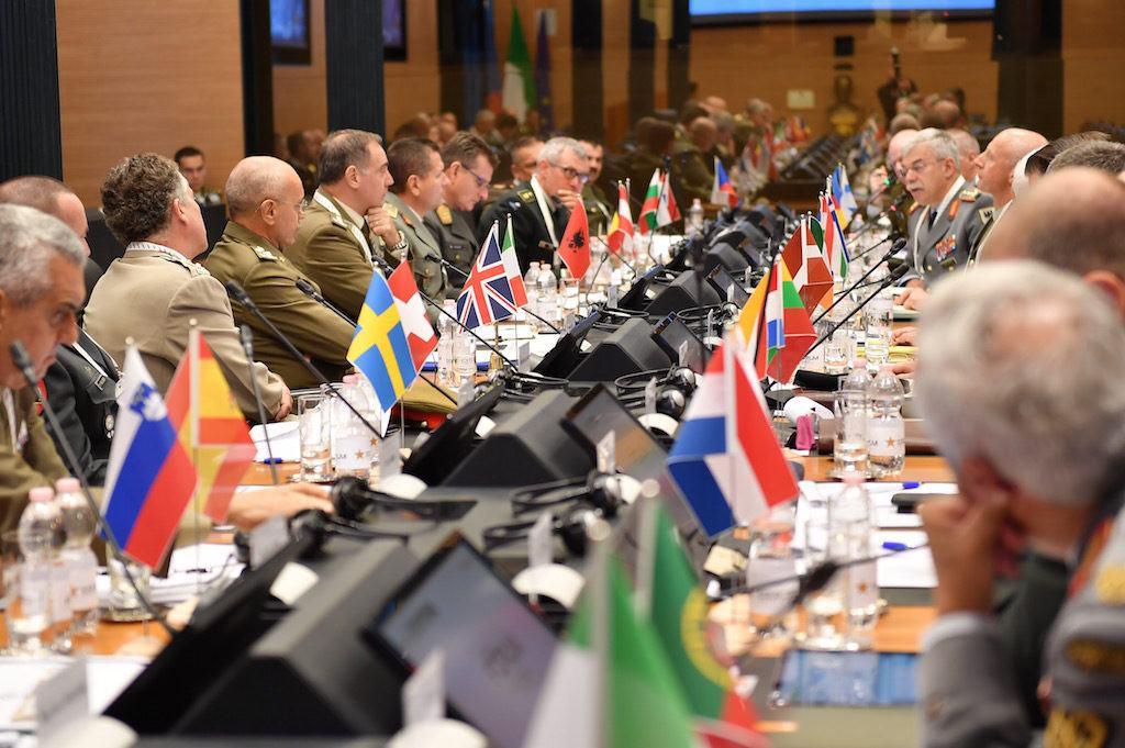 Concluso oggi a Roma il 4° Forum dei Capi di Stato Maggiore degli Eserciti europei