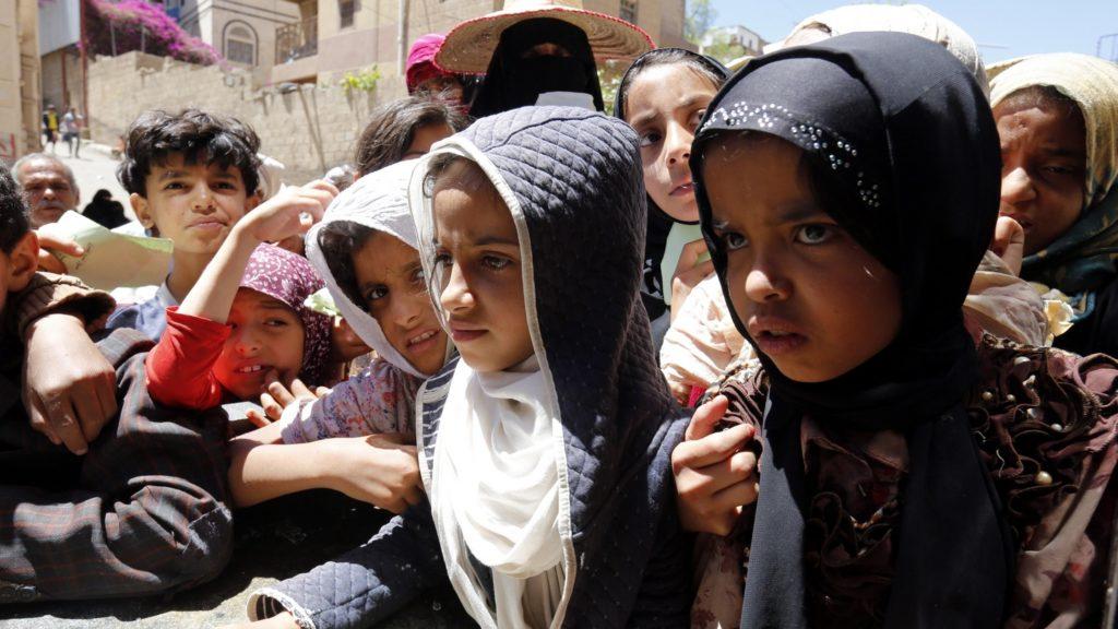 UNICEF/YEMEN: 15 milioni di bambini segnati dalla guerra Photograph: Yahya Arhab/EPA