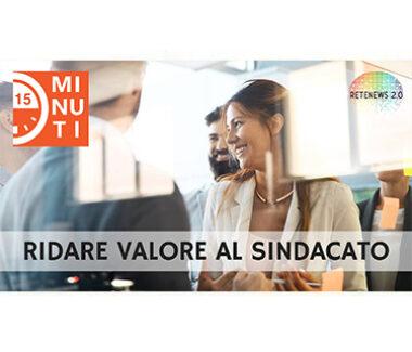 """Ridare valore al sindacato: intervista a Bellissima. """"15 minuti di attualità"""" puntata del 6.2.2019"""