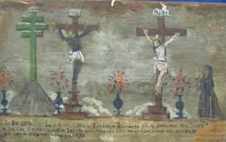 Dipinto olio su tavola (XIX secolo) Chiesa Senor de Masatepec