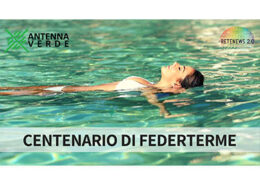 Centenario di Federterme. Chef Roberta Iannuzzi. Ecomondo. ANTENNA VERDE novembre 2019.