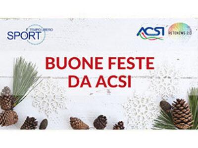 Buone feste da ACSI!