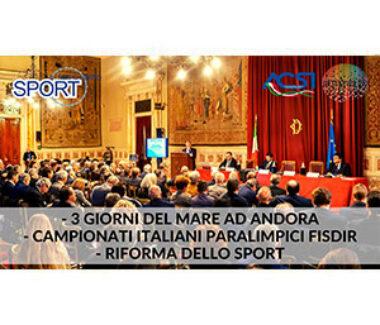 SPORT E TEMPO LIBERO puntata 78