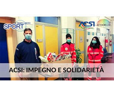 SPORT E TEMPO LIBERO 82: ACSI impegno e solidarietà