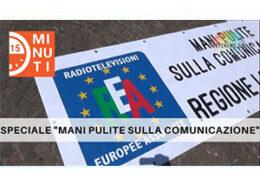 """15 minuti speciale """"mani pulite sulla comunicazione"""" manifestazione REA a Roma, 10 giugno 2021"""